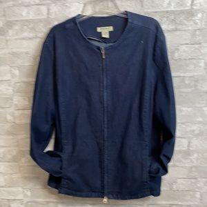 Eddie Bauer blue jean jacket